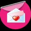 Messages d'amour romantique et Lettres d'amour icon