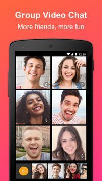 JusTalk - Free Video Calls and Fun Video Chat Ekran Görüntüsü 3