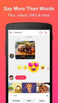 JusTalk - Free Video Calls and Fun Video Chat Ekran Görüntüsü 5