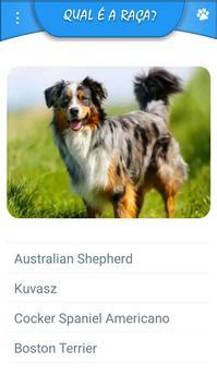 Quiz - Raças de cachorros screenshot 1