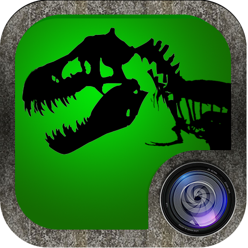 Jurassic Picture Builder Dinosaur Photomontage