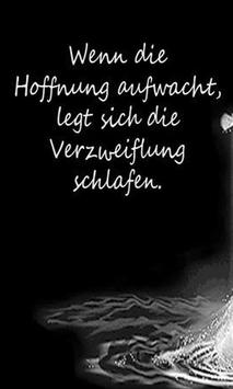 Motivational Quotes - German poster