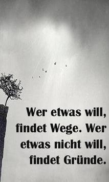 Motivational Quotes - German screenshot 3