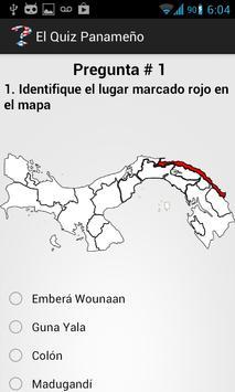 El Quiz Panameño screenshot 1