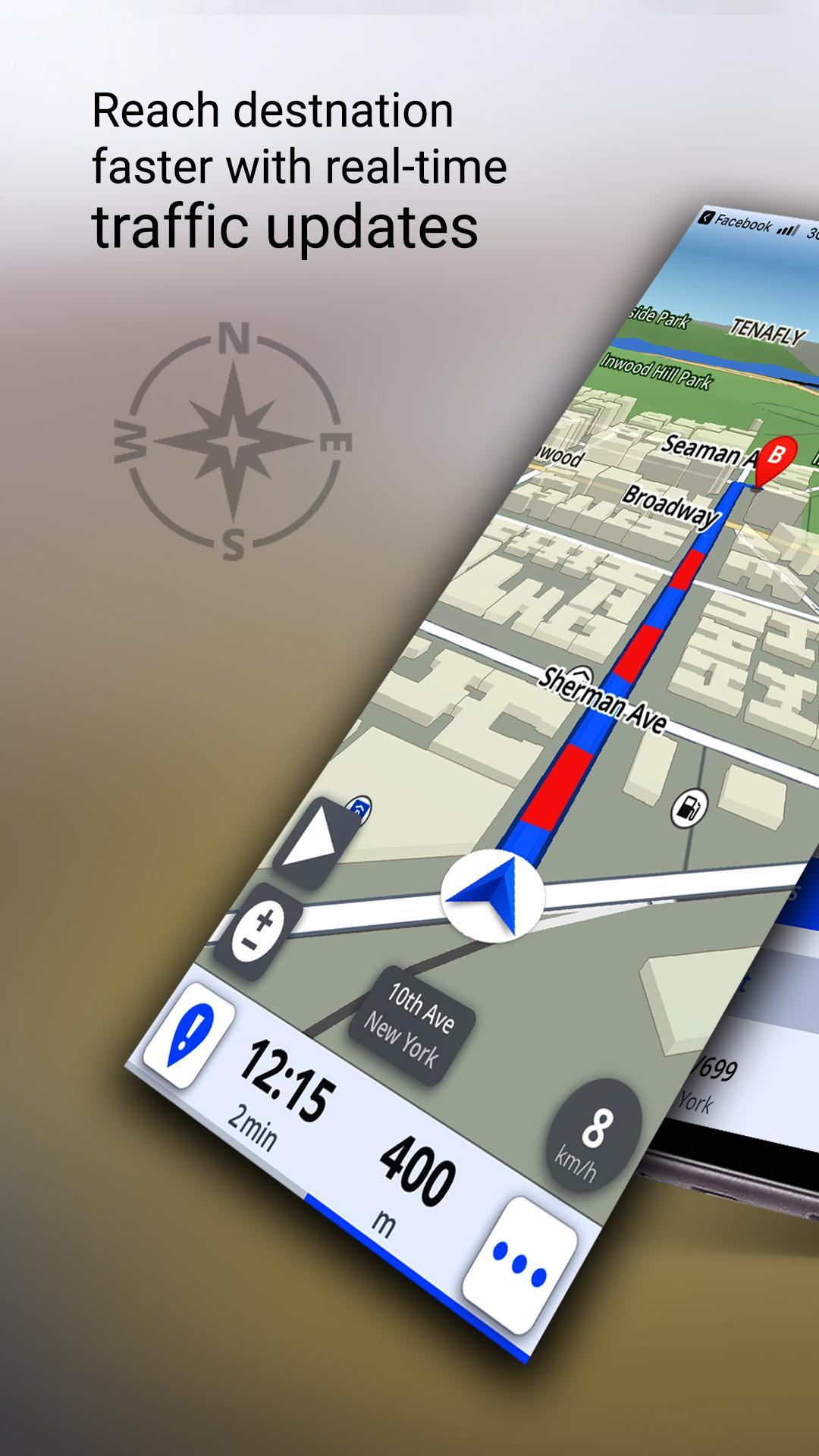 GPS Offline Maps, Directions - Explore & Navigate for