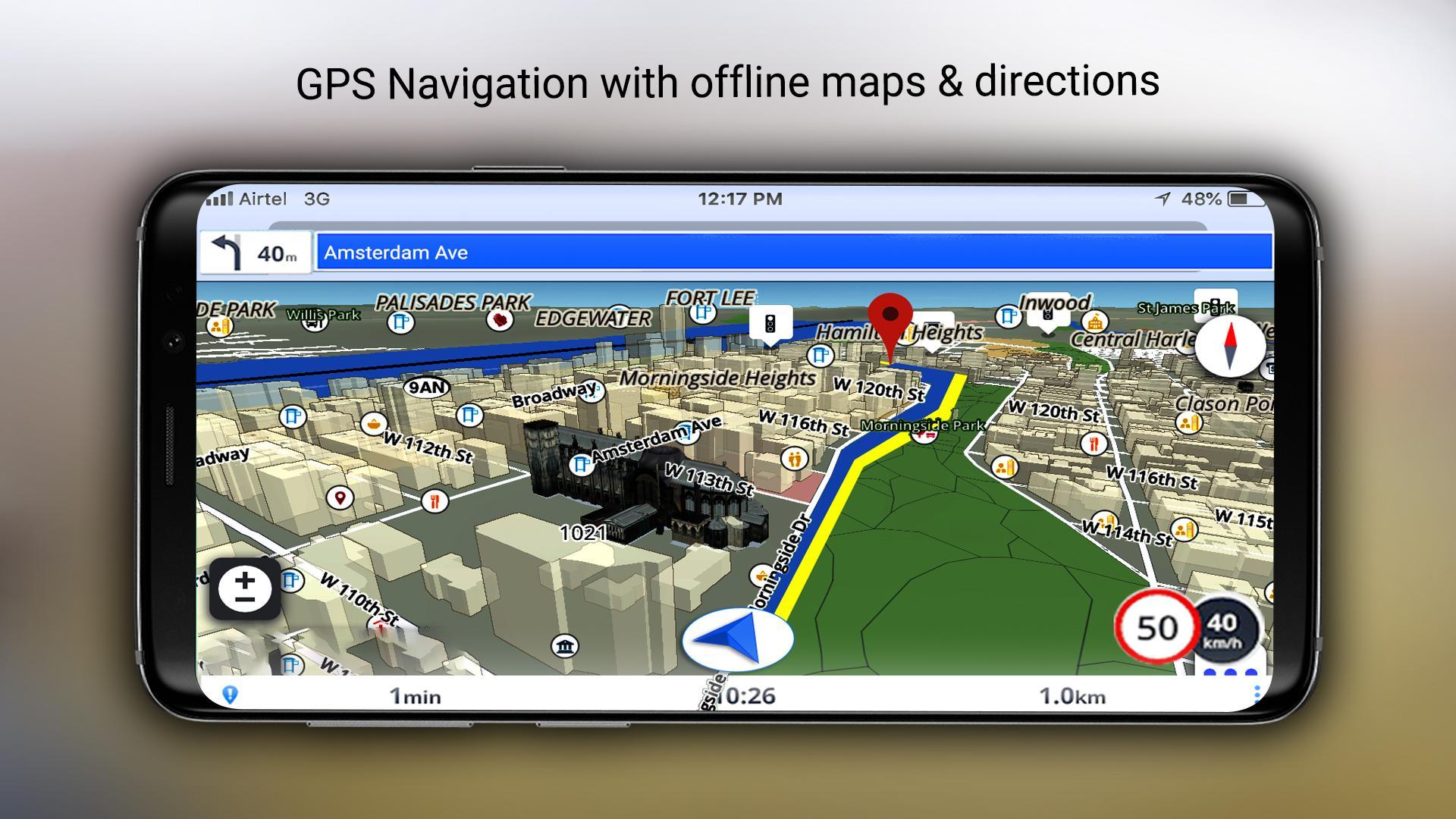 GPS Offline Maps, Navigation, Directions & Traffic for Android - APK on
