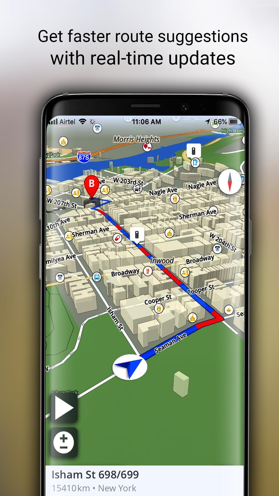 GPS Offline Maps, Directions - Explore & Navigate for