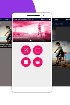 Insta Photo Collage screenshot 2