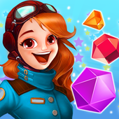 jeweled star classic gems : Happy Christmast 2019 icon
