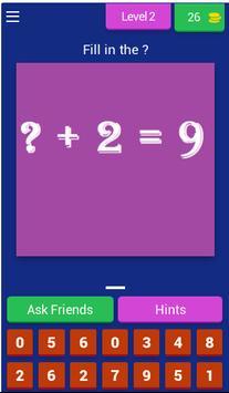 Math games - Math tricks for America screenshot 2