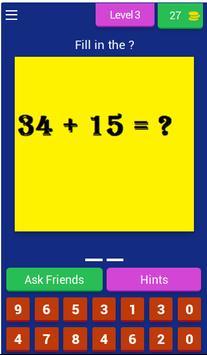 Math games - Math tricks for America screenshot 3