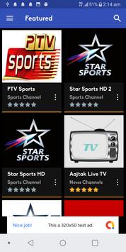 Live Cricket TV (লাইভ ক্রিকেট) - Watch ICC WC 2019 screenshot 4