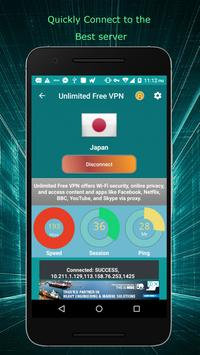 Unlimited Free VPN screenshot 2