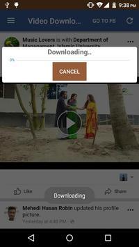 FB Video Downloader Pro screenshot 3