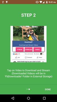 FB Video Downloader Pro screenshot 1