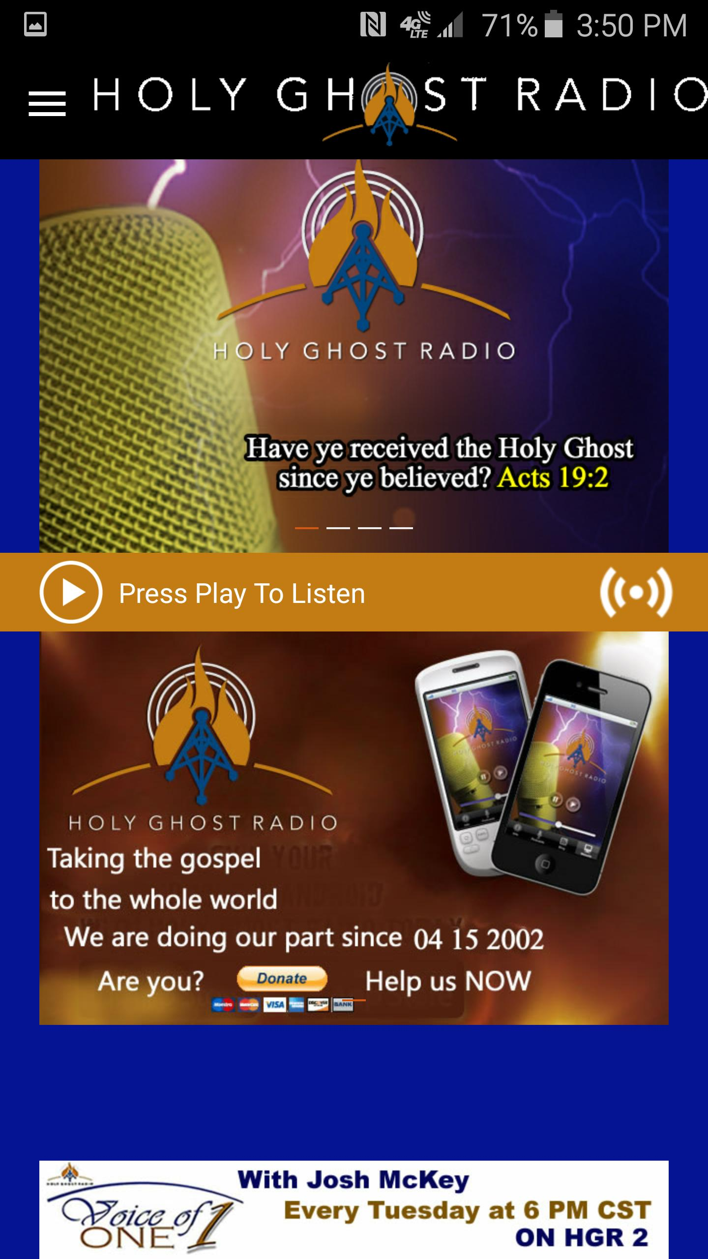 Holy Ghost Radio for Android - APK Download