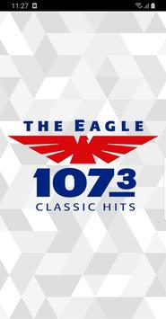107.3 The Eagle poster