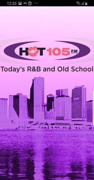 HOT 105 FM poster