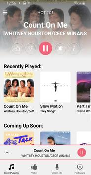 HOT 105 FM screenshot 1