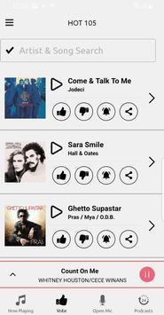 HOT 105 FM screenshot 2