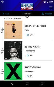 101.9 The Mix screenshot 2
