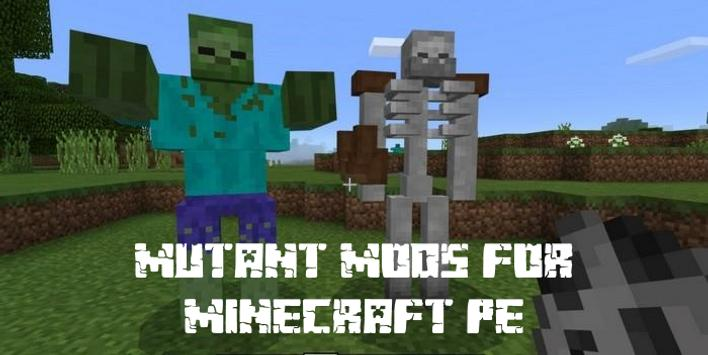 Mutant Creatures Mods for Minecraft PE poster
