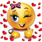 Beautiful stickers : love Emoji Stickers 2019 icon