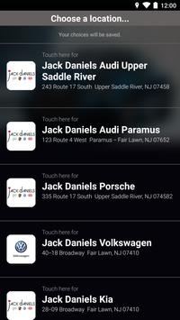Jack Daniels Motors poster