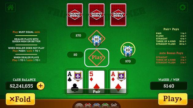 Triple Card capture d'écran 8