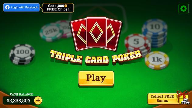 Triple Card capture d'écran 1