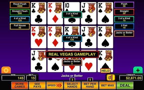 Video Poker screenshot 9