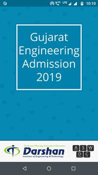 Engineering Admission 2019 poster