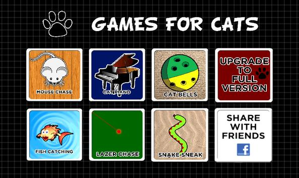 GAMES FOR CATS poster