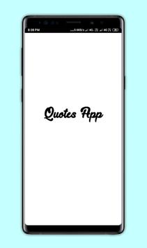 Quotes app for Insta and Whatsapp poster