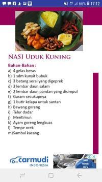 Aneka Menu Nasi Nusantara screenshot 6