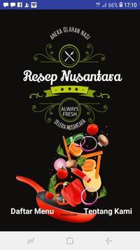 Aneka Menu Nasi Nusantara poster