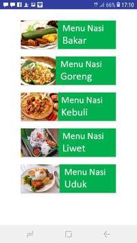 Aneka Menu Nasi Nusantara screenshot 1
