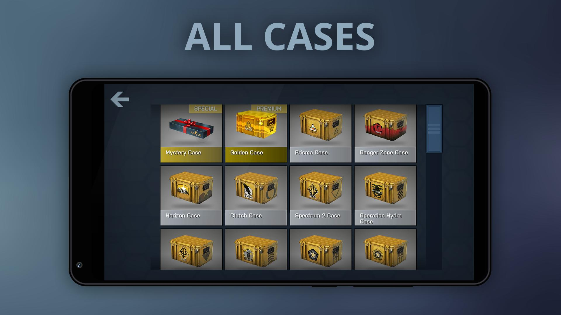 Case Opener - skins simulator with minigames for Android - APK Download