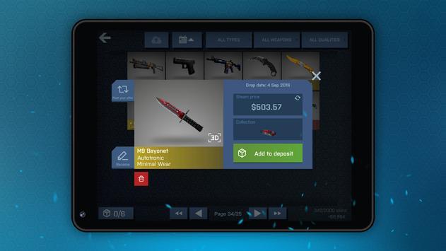 Case Opener - КС ГО кейс симулятор скриншот 8