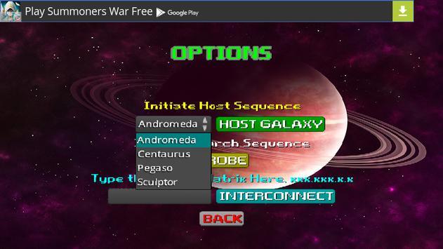 Multiplayer Space Deathmatch screenshot 1