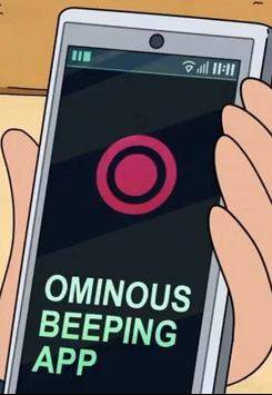 Ominous Beeping App - Rick and Morty screenshot 2