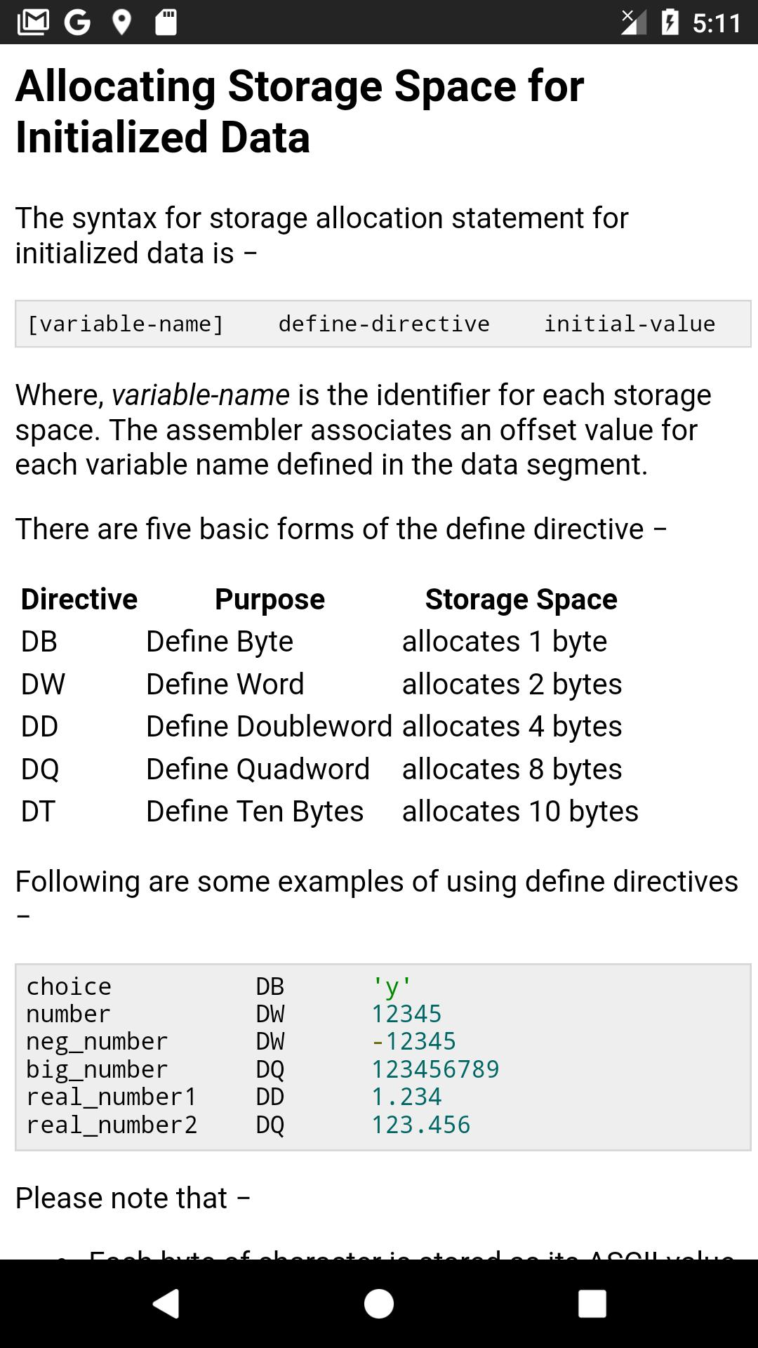 Learn Assembly Language Complete Guide (OFFLINE) for Android