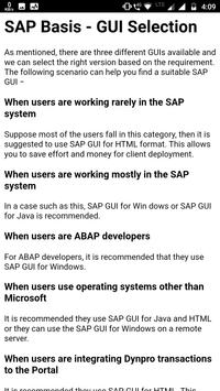 Learn SAP BASIS Complete Guide for Android - APK Download