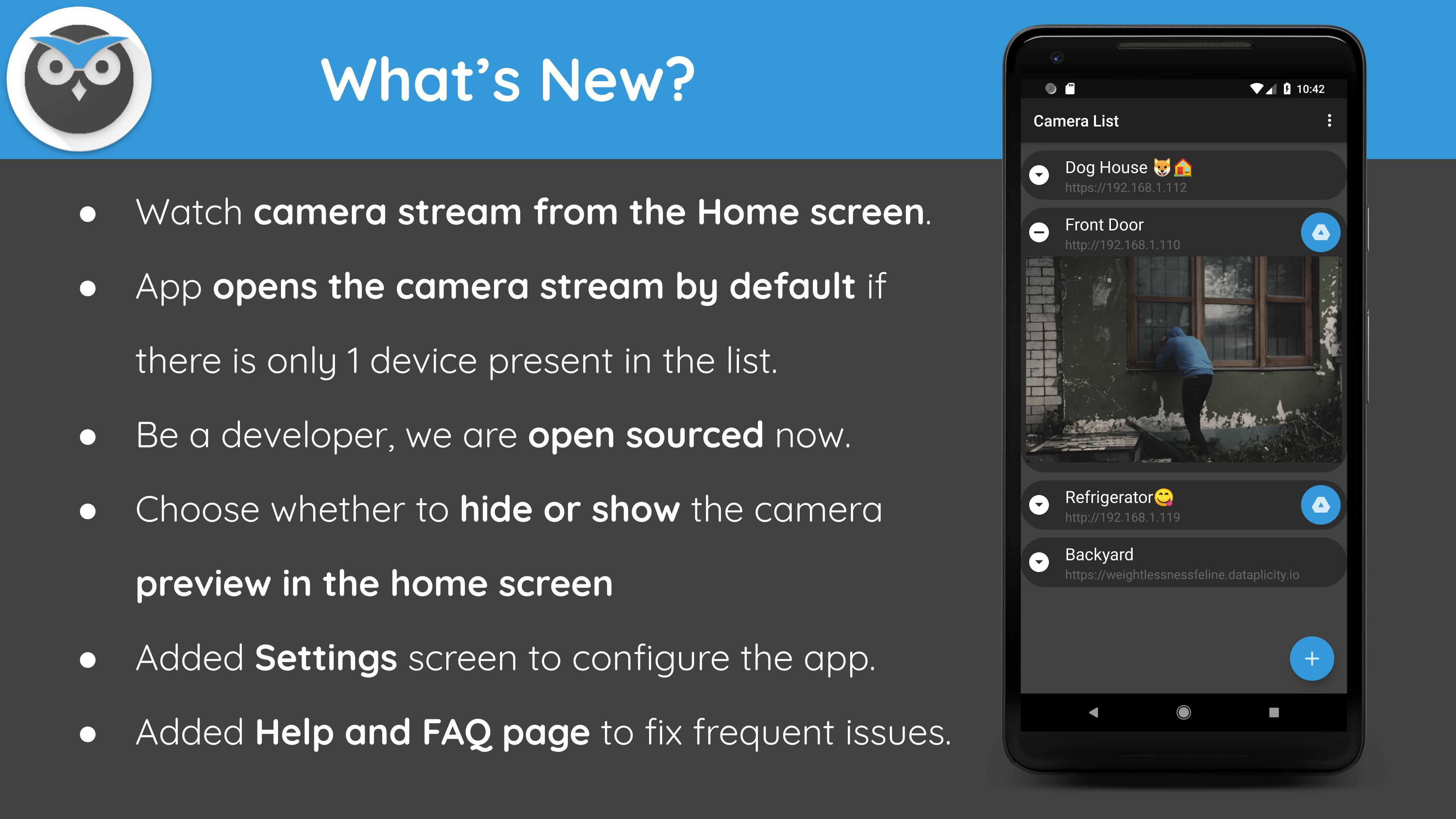 motionEye app - Home Surveillance System for Android - APK Download