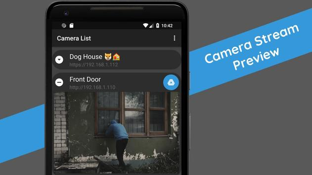motionEye app - Home Surveillance System imagem de tela 1