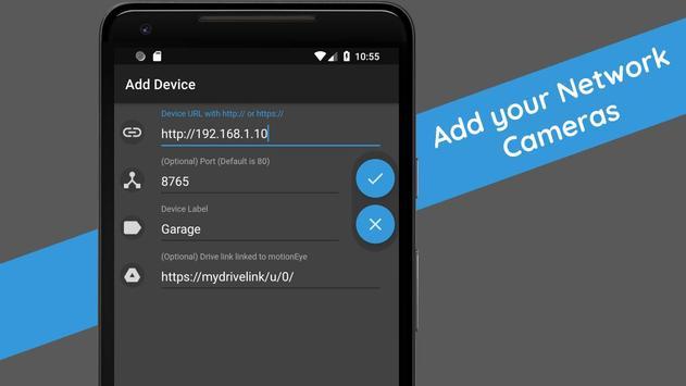 motionEye app - Home Surveillance System imagem de tela 5