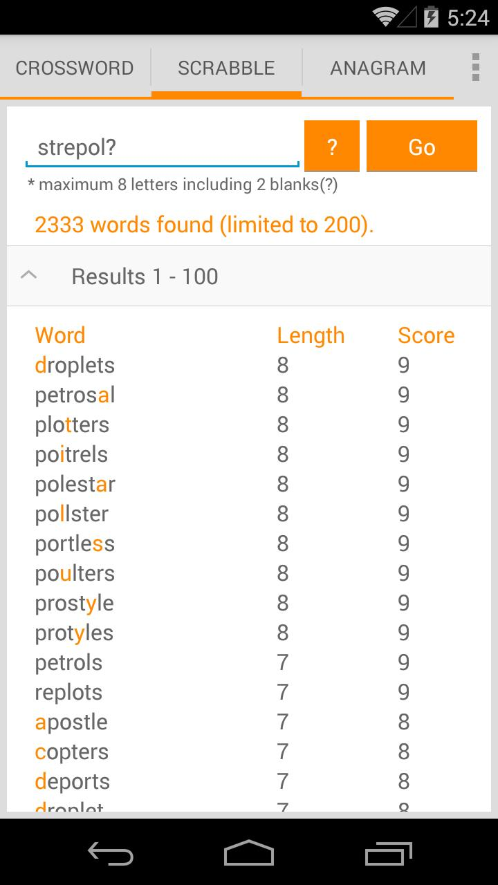 Word Solver Free for Android   APK Download