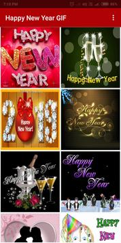 Happy New Year GIF 2019 poster