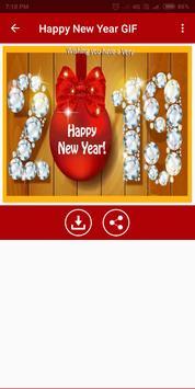 Happy New Year GIF 2019 screenshot 1