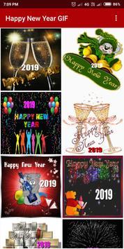 Happy New Year GIF 2019 screenshot 2